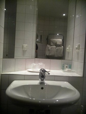 Landvetter Airport Hotel : toilet