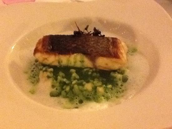 Restaurant SeaSens: le bar et son risotto