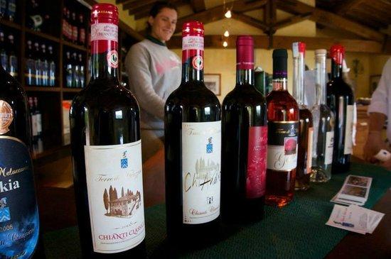 All of the Terre di Melazzano Wines