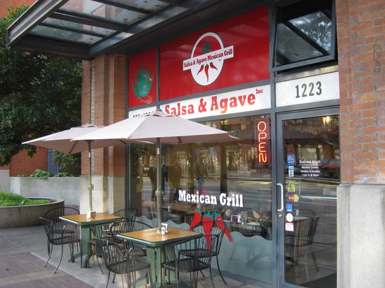 Salsa & Agave Mexican Grill: Original location