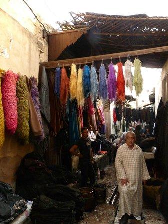 Visitas Guiadas de Marrakech : souk de marrakech