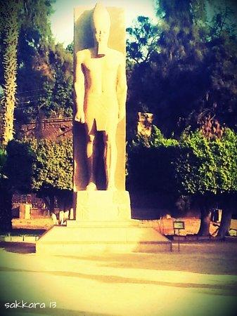 Memphis Historical Site : statue