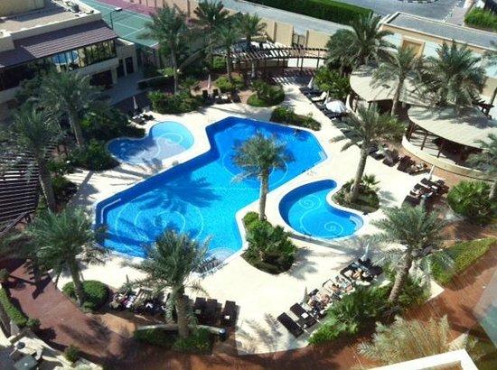Swimming Pool Picture Of The Diplomat Radisson Blu Hotel Residence Spa Manama Tripadvisor