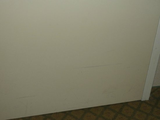 Kitchener Inn and Suites: walls