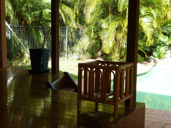 Burringbar, Australie : Pool & palms