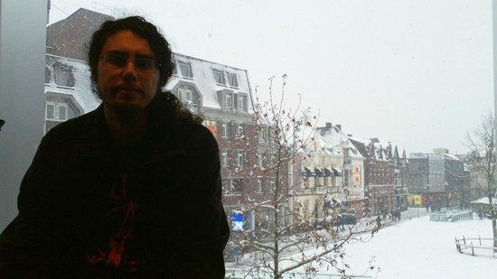 Vista do apartamento (City Hotel Tilburg)