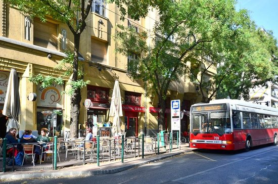 Green Dream Apartment: Restaurants & grocery in the neighborhood