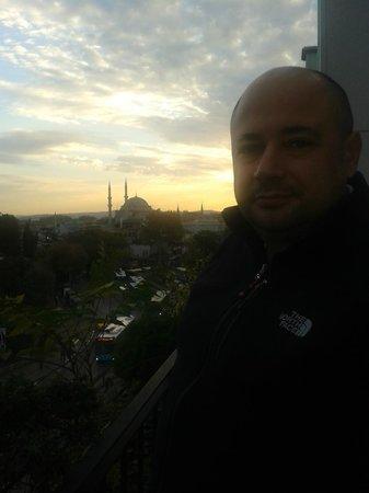 Hotel Beyaz Saray: desde la terraza del comedor