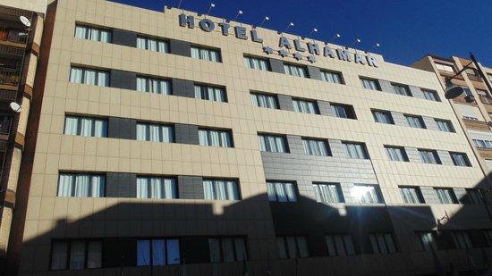 Occidental Granada: fachada del hotel