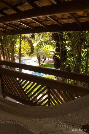 Hotel Via dos Corais: Descansar nessa varanda não tem preço
