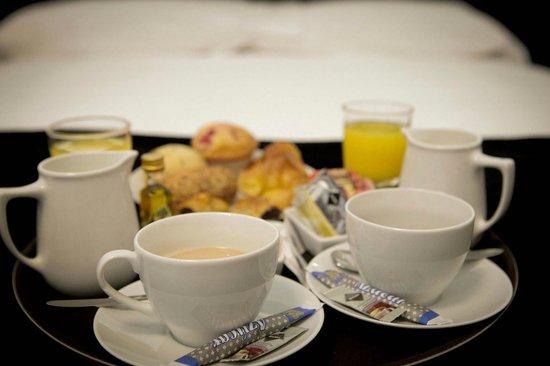 Vitium Urban Suites: Desayuno Room Service
