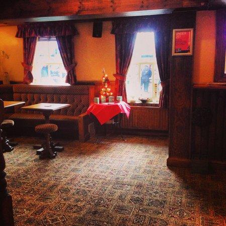 The Globe Inn: Nice cosy