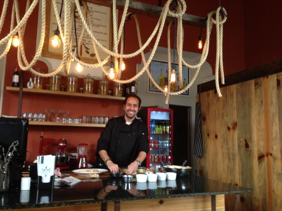 Oliva Kitchen & Bar: Stefano at the helm