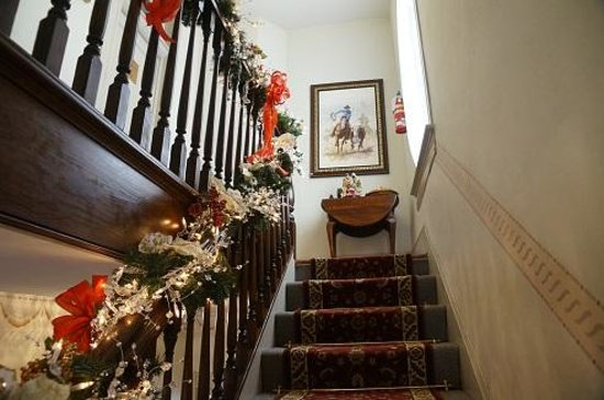 Arbor House Inn And Suites: the stairs to our room