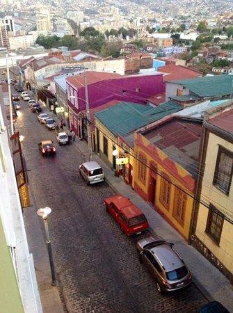 Casa Galos Hotel & Lofts: calle A. Montt