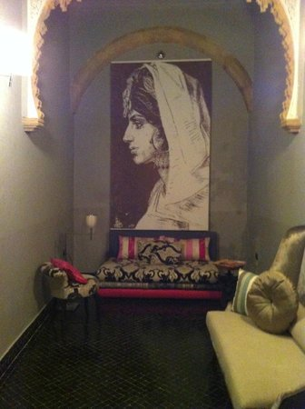Riad L'Alcazar : Well decorated relaxing space