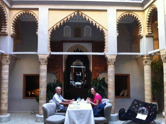Riad L'Alcazar : Breakfast