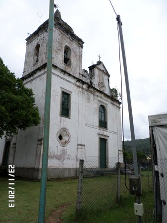 Vila Histórica de Mambucaba : iglesia
