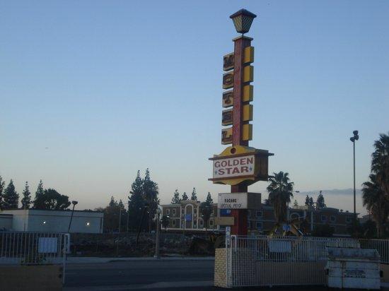Golden Star Inn: Placa