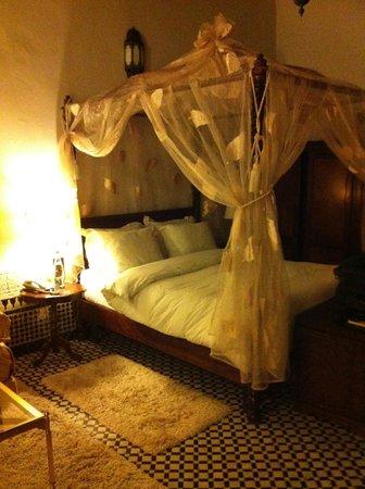 Riad Maison Bleue: Bedroom