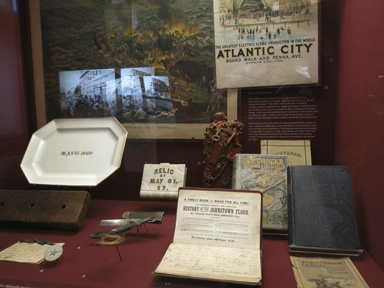 Johnstown Flood Museum: artifacts