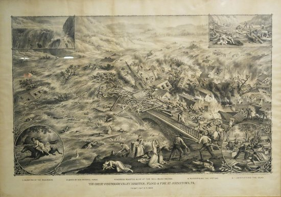 Johnstown Flood Museum: drawing