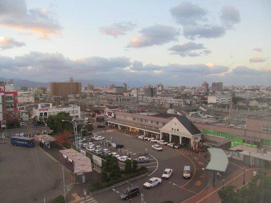 Terminal Hotel Matsuyama: View of Matsuyama station
