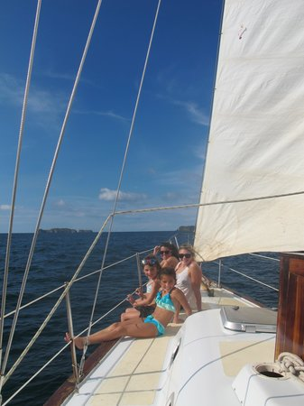 Serendipity Charters-Sailing Costa Rica: sailing