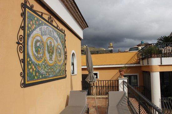 Hotel Villa Ducale: Balcon