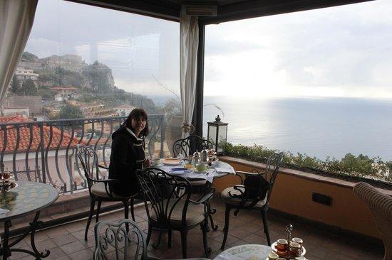 Hotel Villa Ducale: Desayuno/Cena