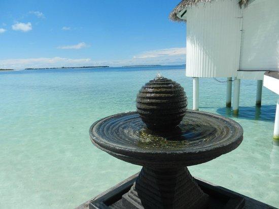 Kihaa Maldives: View at the K Spa