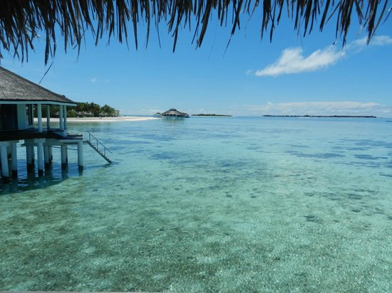 KIHAAD Maldives: View from the water bungalows