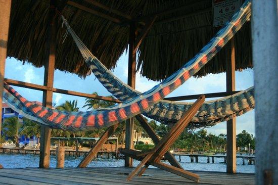 Colinda Cabanas: Palapa w/ hammocks