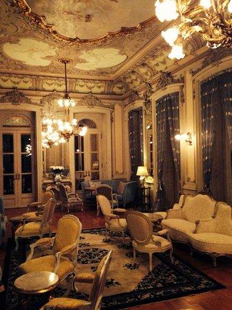Pestana Palace Lisboa Hotel & National Monument: Un salone.