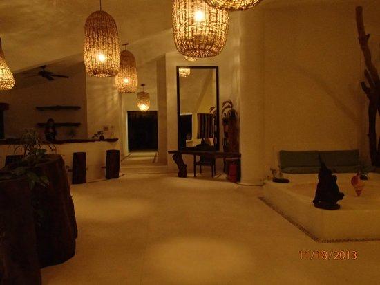The Beach Tulum: hotel lobby