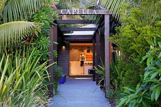 Capella Lodge: Capella Entrance