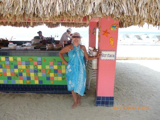 Zuana Beach Resort: En la playa