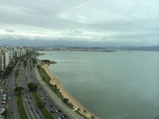 Majestic Palace Hotel Florianopolis: View from my room.