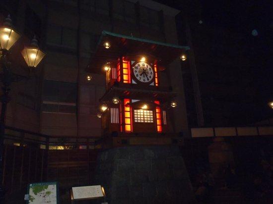 Bocchan Wind up Clock: ライトアップ