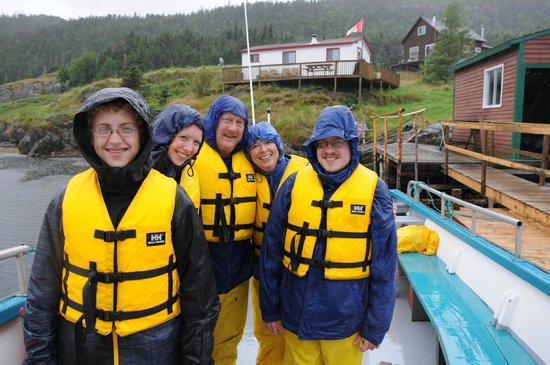 Rugged Beauty Boat Tours: Fun in the Rain