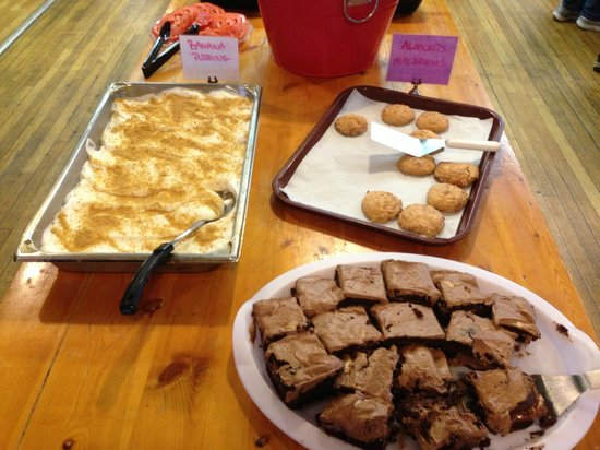 The Mountain Retreat and Learning Center : the head chef, Brian, is quite the baker!