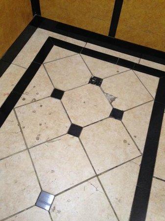Super 8 Texarkana AR: Elevator floor