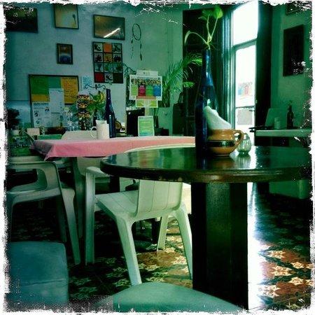 Savia Vegana: Inside Dining Room