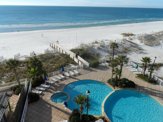 Holiday Inn Express Orange Beach: View from 6th floor balcony.