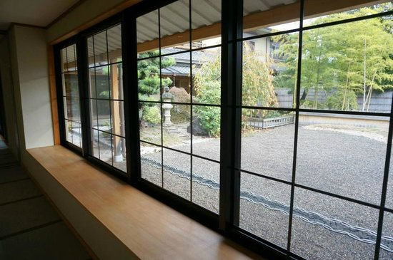 Rangetsu: 公共浴池外之景觀