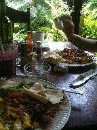 The Garden Cafe : Delicious Breakfast