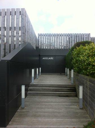 Akelarre: Вход в ресторан