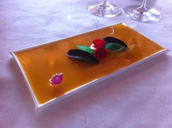 Akelarre: Какое-то из блюд, их было много