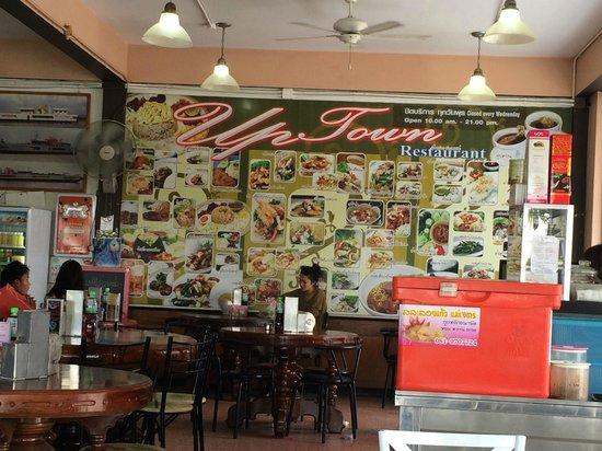 Uptown Restaurant : Große Speisekarte