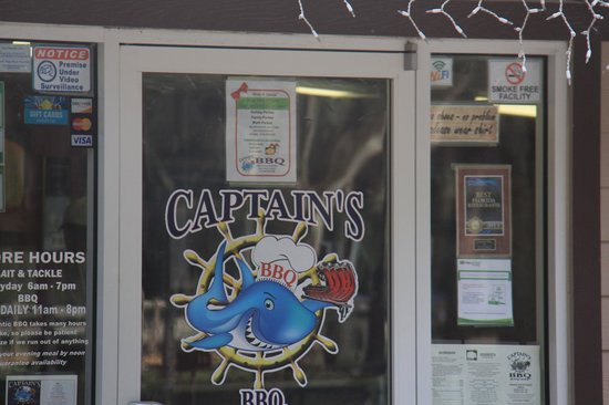 Captain's BBQ: Yum !!  Can't wait to return :)